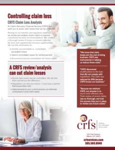 Thumbnail of Claims Loss Analysis Brochure
